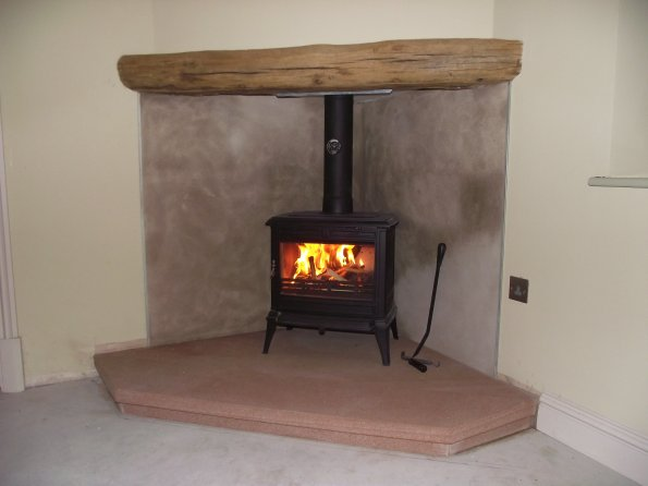 New Ecosy+ Purefire 7.4kw installed at Kenilworth Coventry CV8
