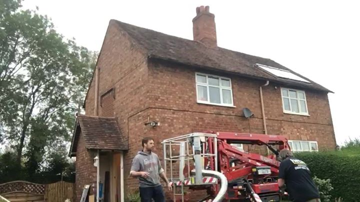Installing a log burner in Oxford