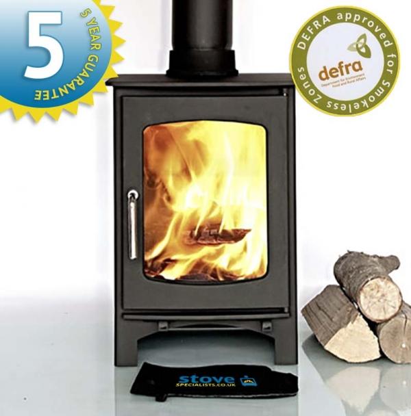 Ecosy+ Ottawa 5 Curve wood burning stove