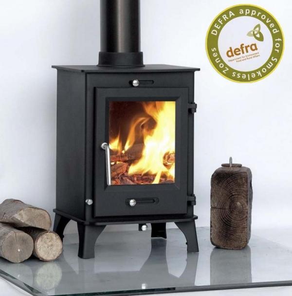 Ecosy+ Ottawa 5 wood burning stove angled view
