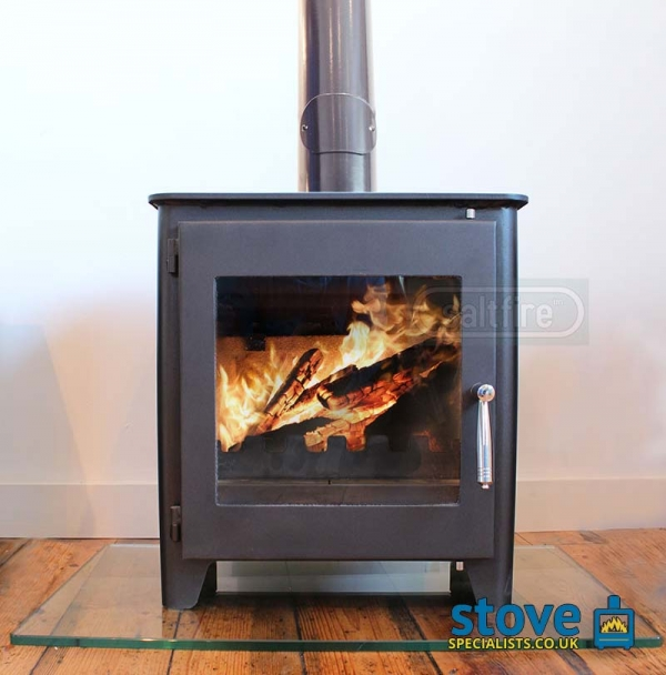 Man CaveWood Burning Stove Saltfire ST1