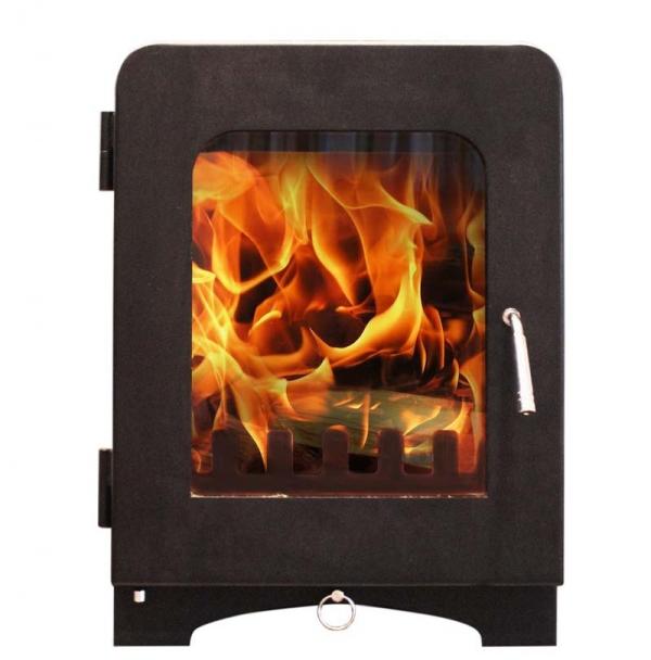 Saltfire ST2 woodburning stove black