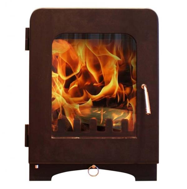 Saltfire ST2 woodburning stove charcoal