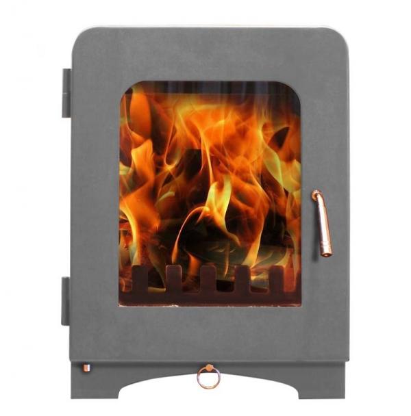 Saltfire ST2 woodburning stove light grey