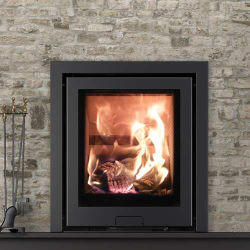 Di Lusso R5 Stove 3 sided inset stove