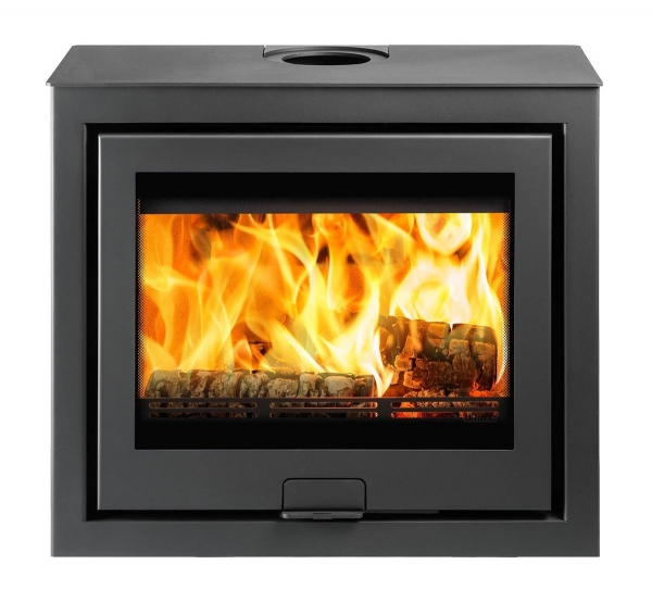 Di Lusso R6 Cube Wood Burning Stove Staffordshire UK