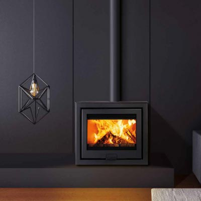 Di Lusso R6 Cube Wood Burning Stove Wessex