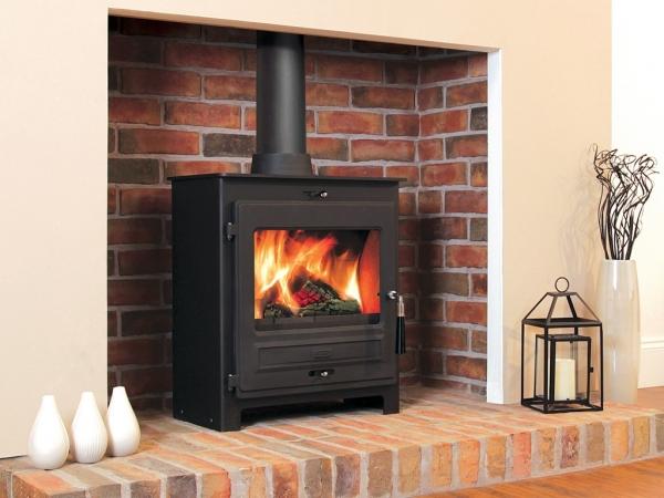 Flavel SQ07 multi fuel stove installation