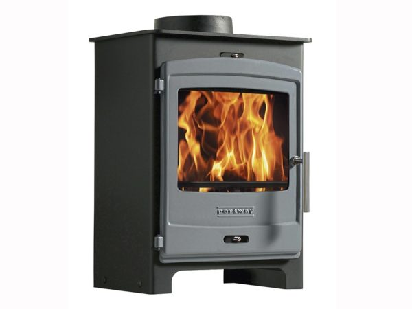 portway 1 multifuel stove for sale with grey door