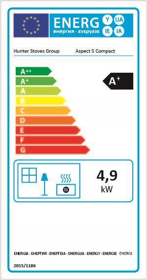 Parkray Aspect 5 Compact Woodburning Stove Energy