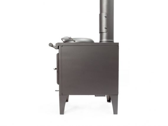 Esse Warmheart cook stove for sale side view