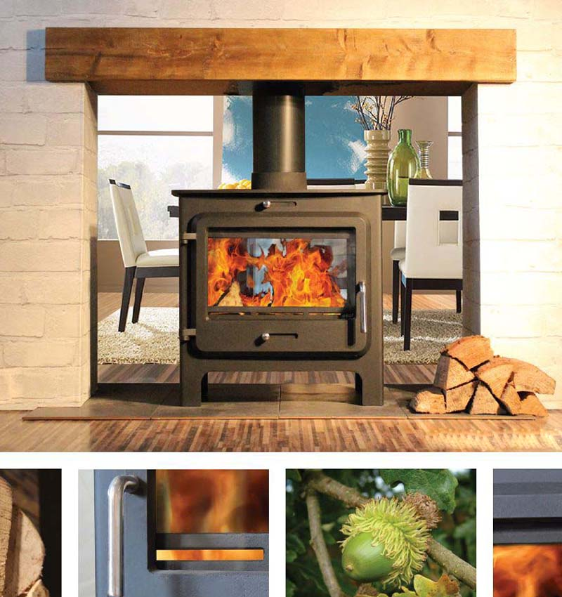 double sided stove for sale UK