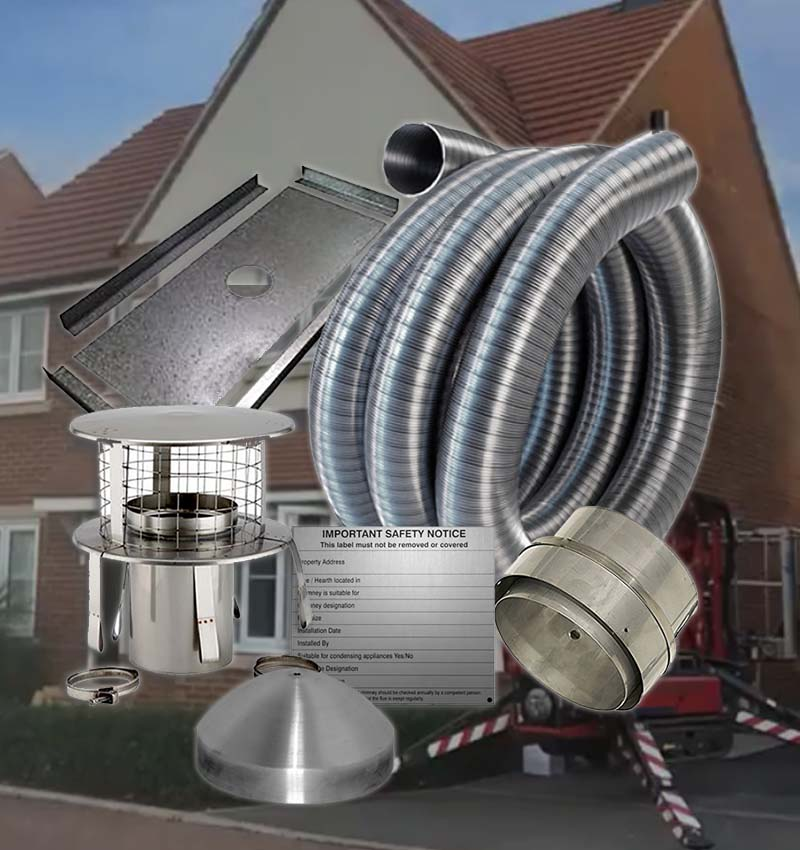 flue systems for sale uk