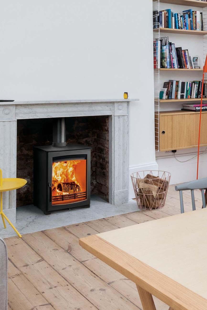 wood burning stove installation berkshire