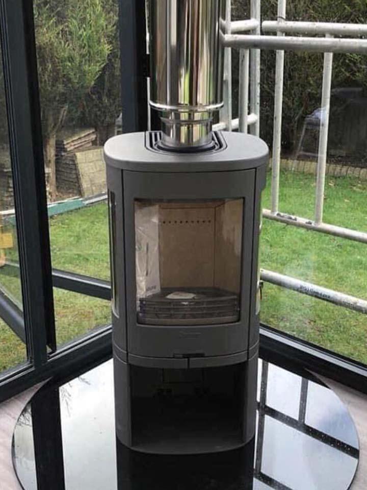 wood burning stove installation bristol