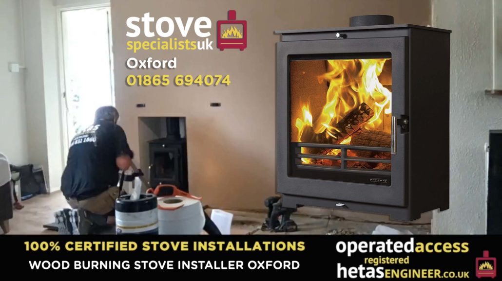 Multi-fuel and wood burning stove installer Oxford
