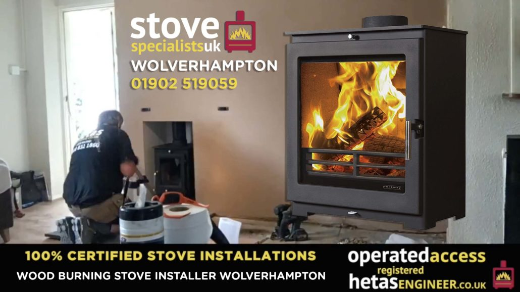 Multi-fuel and wood burning stove installer Wolverhampton